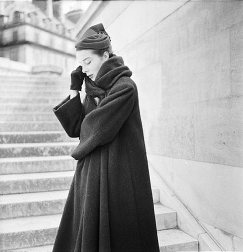 Bettina, Escalier - Rivoli Paris 1953