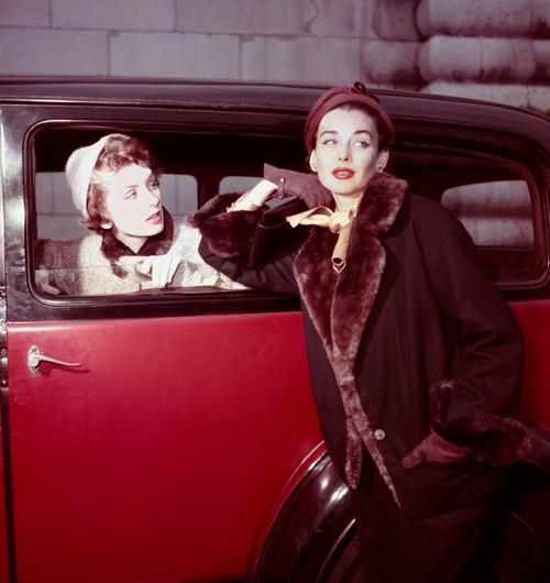 Dorian Leigh et Suzy Parker 1954