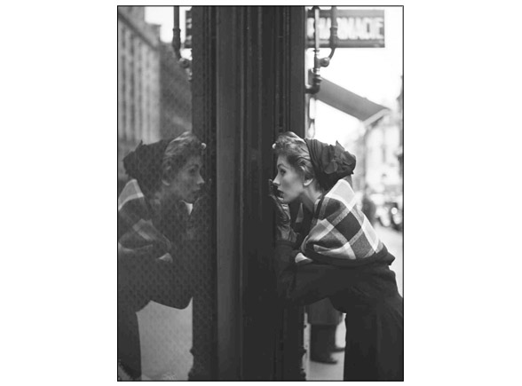 Suzy Parker, Lanvin window