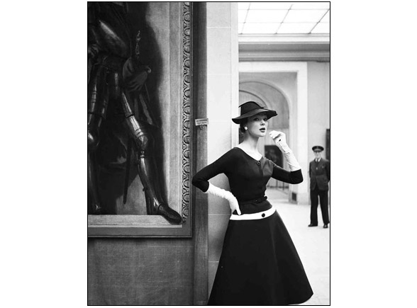 Ivy Nicholson at the Orangerie museum