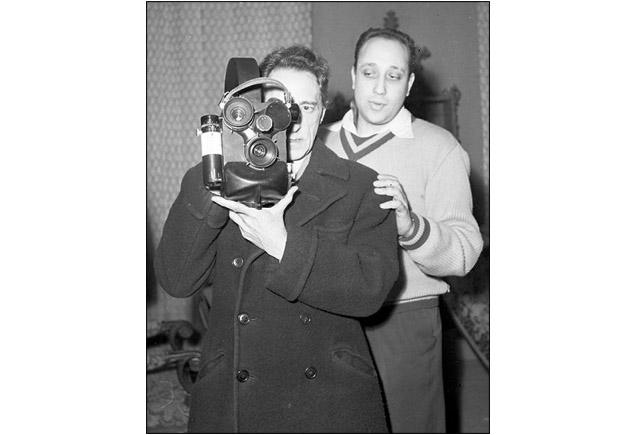 Jean Cocteau et Jean Pierre Melville