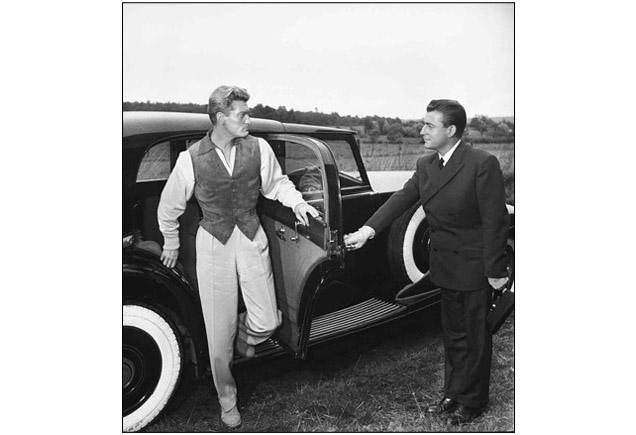 Jean Marais et François Périer