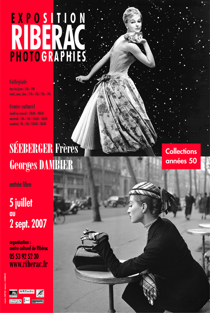 Georges Dambier - Exposition collections années 50, Ribérac