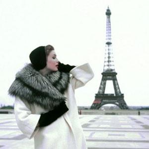 Suzy Parker Tour Eiffel